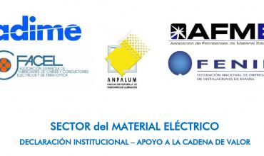Apoyo al Sector del Material Eléctrico