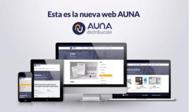 Nueva Web de AUNA distribución