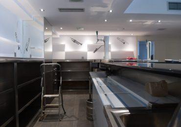 Iluminación Led Bar Cafetería Aretxabaleta
