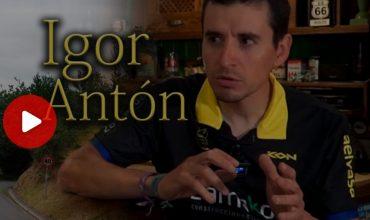 Rodando con Igor Anton
